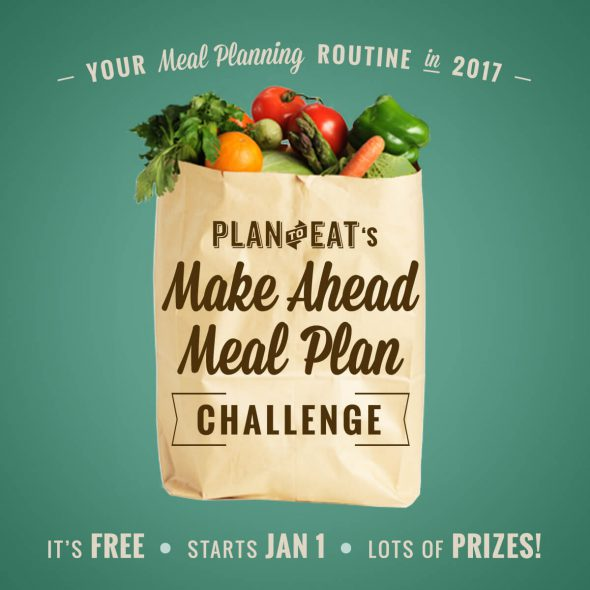 Make Ahead Meal Plan Challenge (with Plan to Eat!) on 100 Days of Real Food
