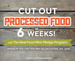 Cut Out Processed Food in 6 Weeks!