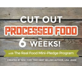 The Real Food Mini Pledge Program!