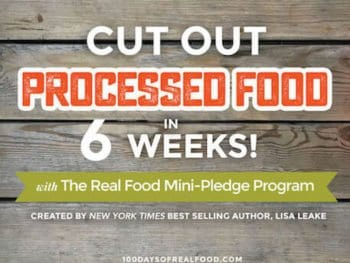 Spring Reset with our Real Food Mini-Pledge Program!