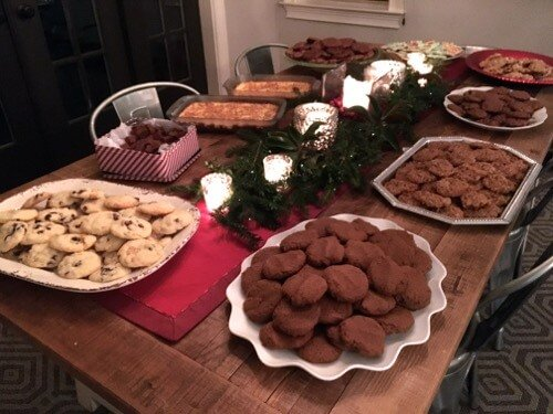 Whole-Wheat Ginger Snaps (+ Annual Cookie Exchange Party!) on 100 Days of Real Food
