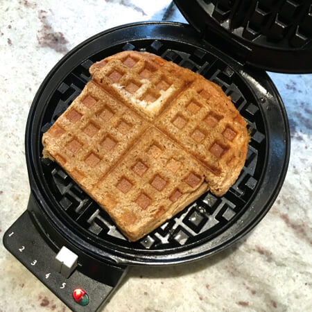 4 Things to Try in a Waffle Maker - Grilled Cheese - on 100 Days of Real Food