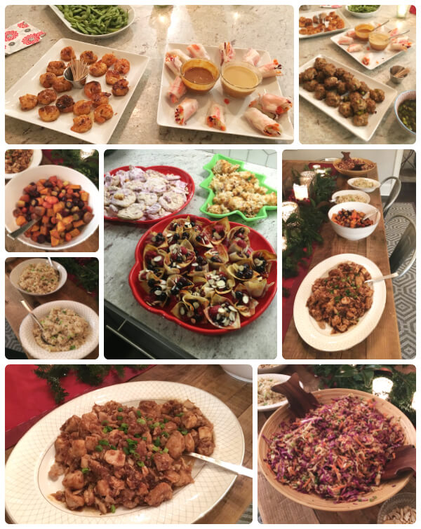 Blog Team Dinner on 100 Days of Real Food, including Asian Glazed Fish