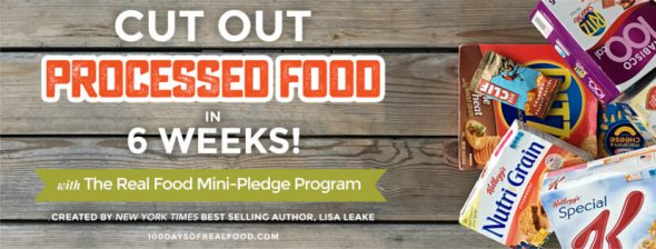 Real Food Mini-Pledge Program
