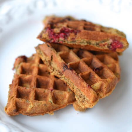 4 Things to Try in a Waffle Maker - Muffin Batter - on 100 Days of Real Food