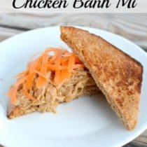 Slow Cooker Chicken Banh Mi