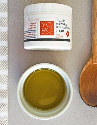 Manuka honey for Eczema on 100 Days of Real Food
