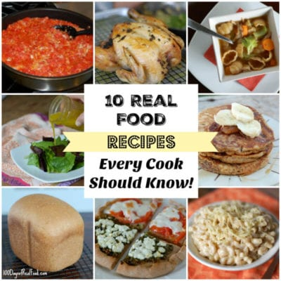 10 Real Food Recipes Every Cook Should Know! 14