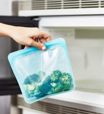 microwaveable stasher silicone bags 363x400 - 100% Plastic-Free Food Storage Bag for $1