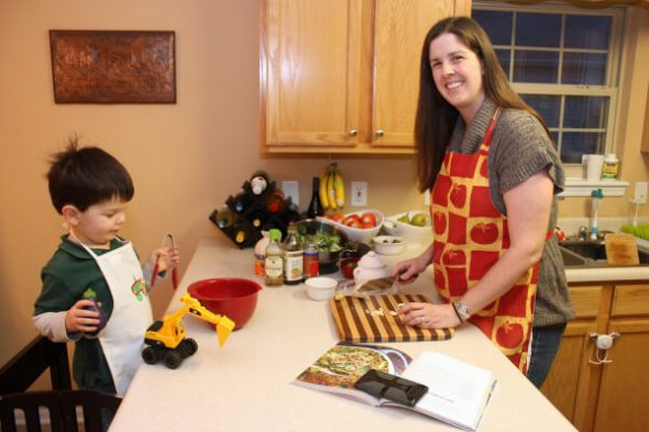 Baby Inspired the Whole Family to Eat Real Food - Reader Story on 100 Days of Real Food