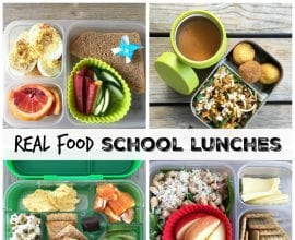 Real Food School Lunches on 100 Days of Real Food