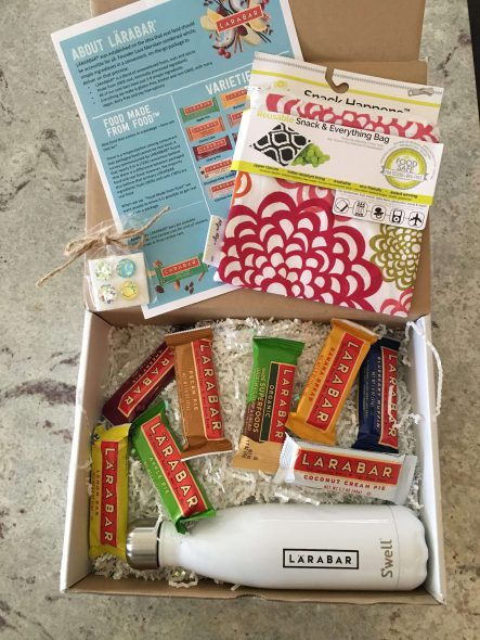 LARABAR Giveaway - One of our favorite real food bars - on 100 Days of Real Food
