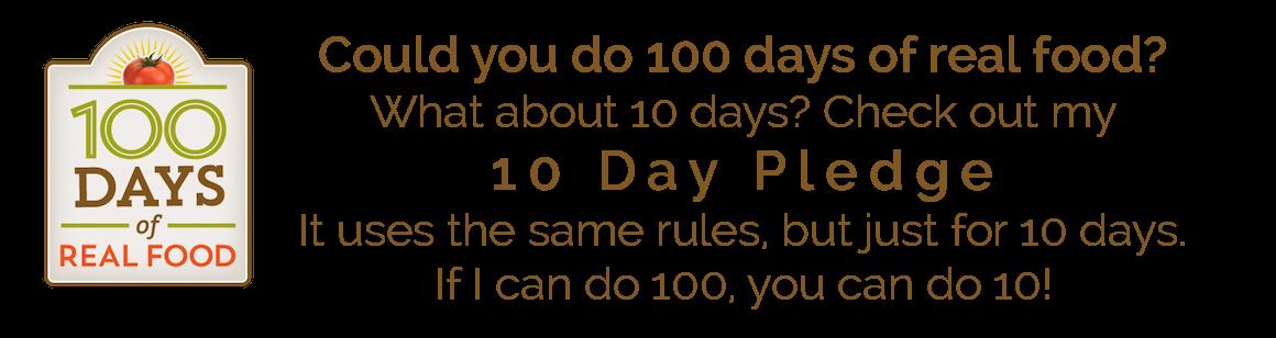 10 Day Mini Pledge