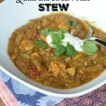 Curried Lentil and Sweet Potato Stew on 100 Days of Real Food