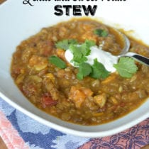 Why I Don't Like the Instant Pot (+ Curried Lentil & Sweet Potato Stew)