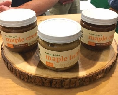 6 New Real Food Snacks Hitting Shelves Soon - The Maple Guild Maple Cream - on 100 Days of Real Food