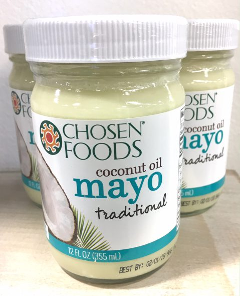 6 New Real Food Snacks Hitting Shelves Soon - Chosen Foods Coconut Oil Mayo - on 100 Days of Real Food