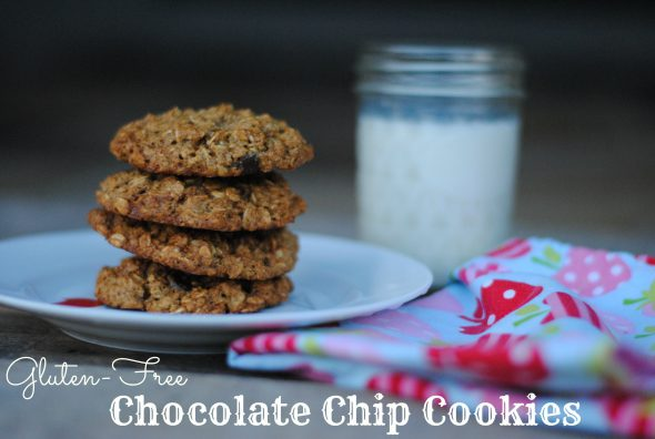 Gluten-free Chocolate Chip Cookie Recipe on 100 Days of Real Food
