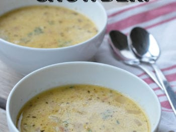 Fish and Potato Chowder - One Pot Meal!