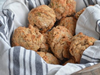 Savory Scones on 100 Days of Real Food