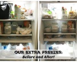 how to freeze flour