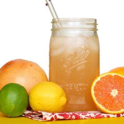 Citrus Cooler Pregnancy Mocktails 100 Days of Real Food main