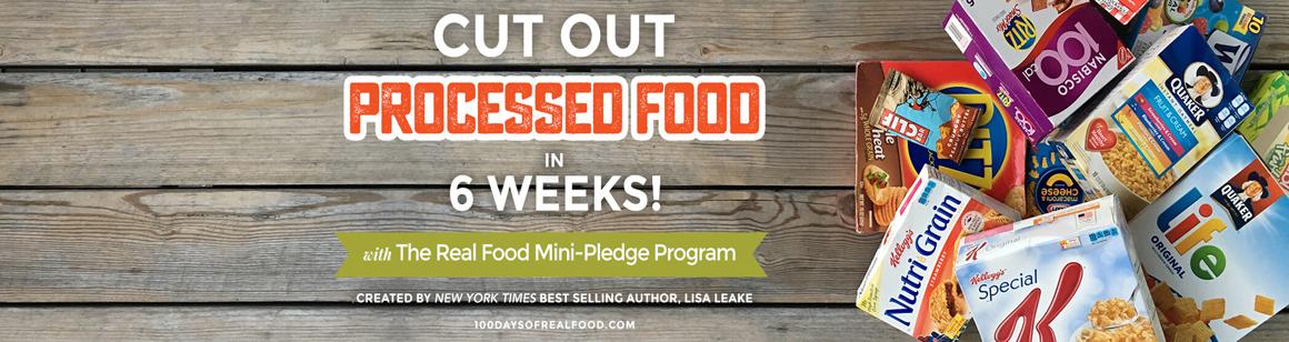 Real Food Mini Pledge Program