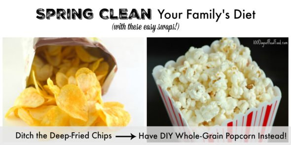 Spring Clean Your Family's Diet with Healthy Food Swaps on 100 Days of Real Food