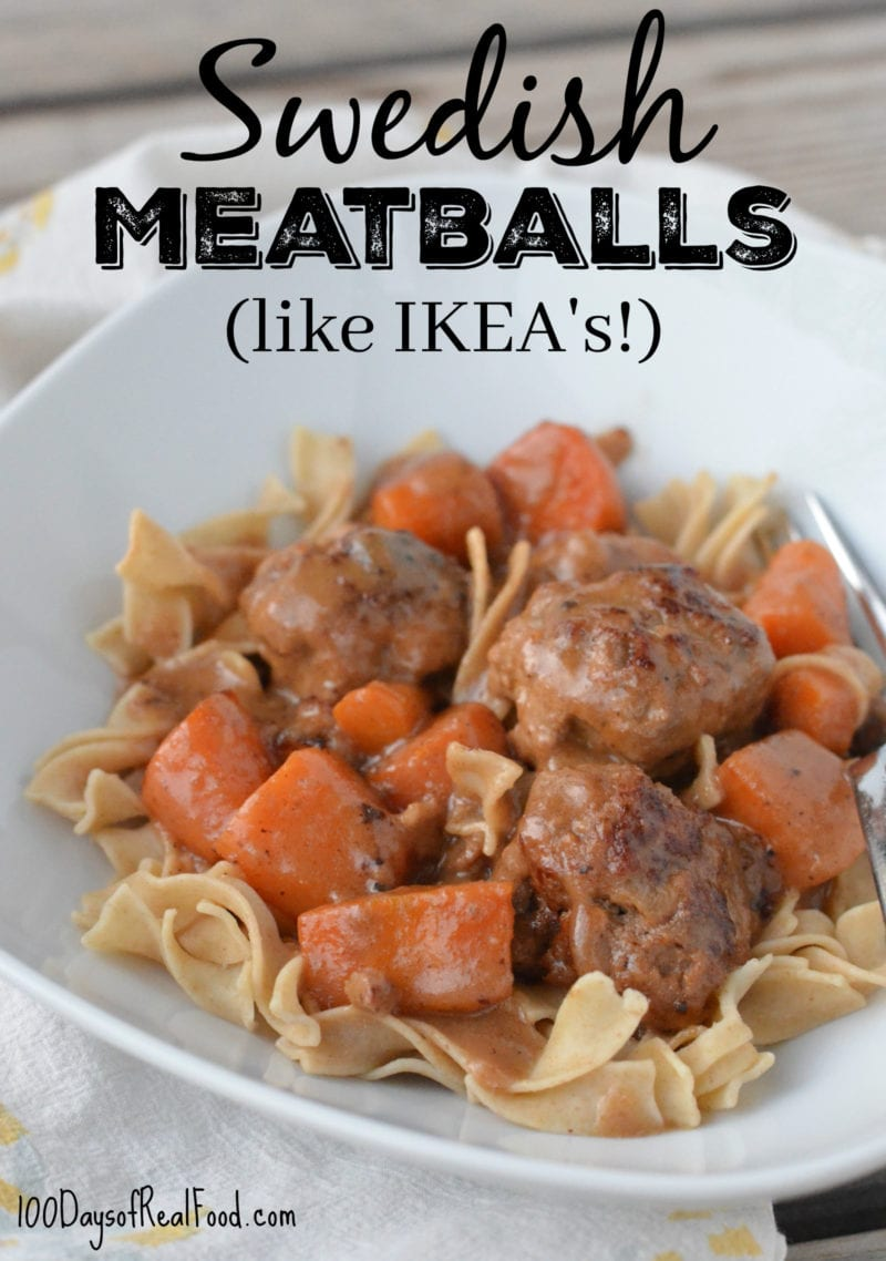 photo of Swedish Meatballs - dinners kids can make