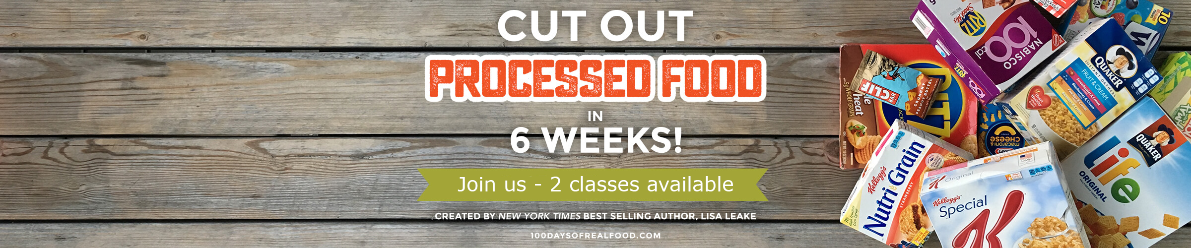 why cut processed food days of real food real food mini pledge program