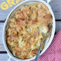 Cauliflower Gratin on 100 Days of Real Food