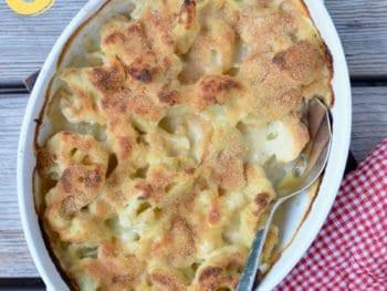 Easy Cauliflower Gratin (Great for Picky Kids)