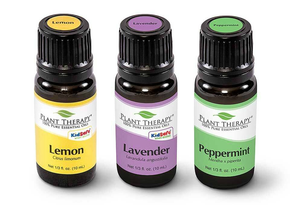 Top 5 Essential Oils by Plant Therapy on 100 Days of Real Food