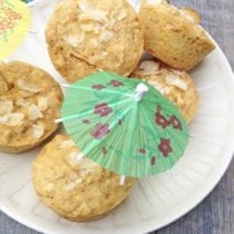 Pineapple Coconut Muffins from Super Healthy Kids 2