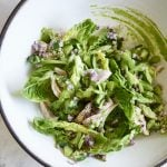 100 Days of Real Food - Green Goddess Salad by Pamela Salzman