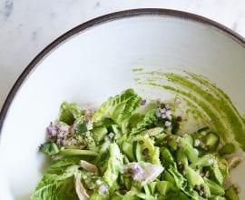 100 Days of Real Food - Green Goddess Salad by Pamela Salzman