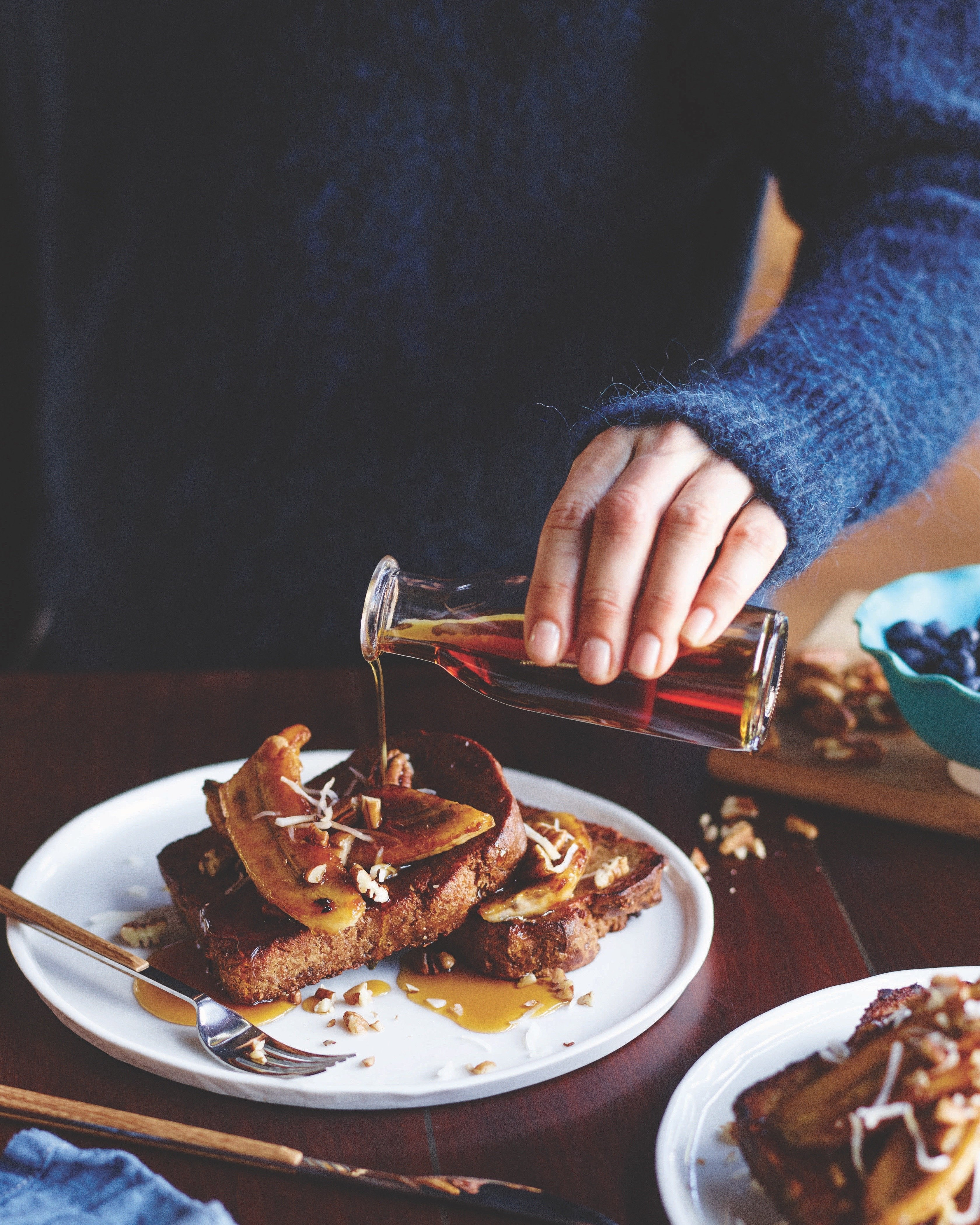 Fabulous Blender French Toast (Allergy Friendly) from Tess Masters on 100 Days of Real Food