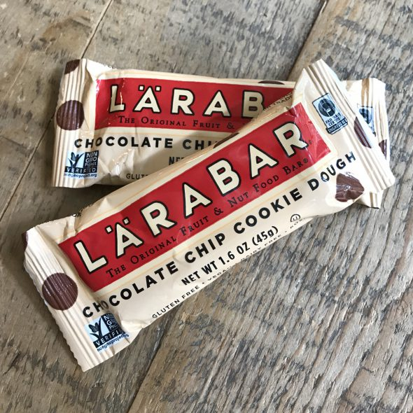 Chocolate Chip Larabars on 100 Days of Real Food