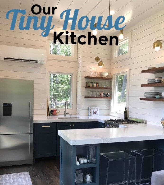 What's In Our New Tiny House Kitchen