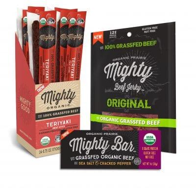 Mighty Organic Beef Jerky