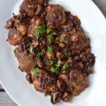 Braised Chicken Marsala 1