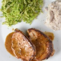 Creamy Braised Pork Chops (or Chicken) 1
