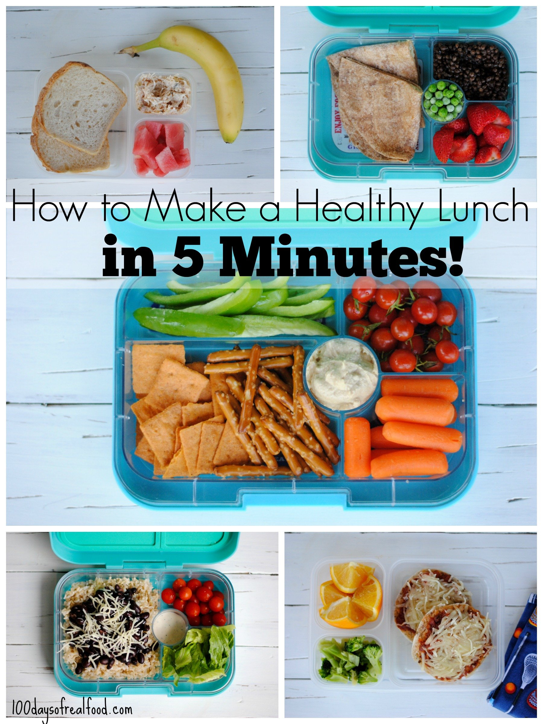 How to Make a Healthy Lunch