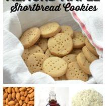 5-Ingredient Almond Maple Shortbread Cookies 1