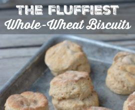 Fluffiest Whole-Wheat Biscuits on 100 Days of Real Food