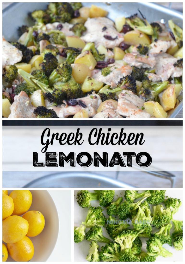 Greek Chicken Lemonato