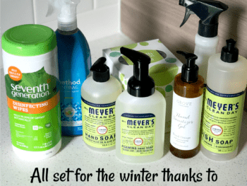 Minimize Germs this Winter with Non-Toxic Products