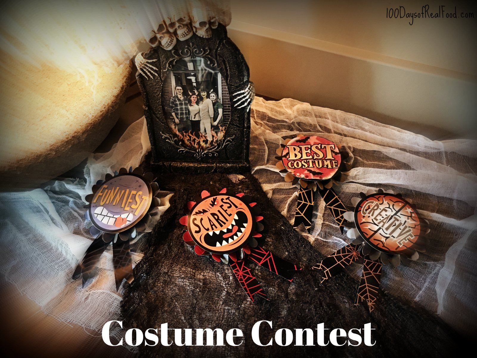 Costume Contest award ribbons
