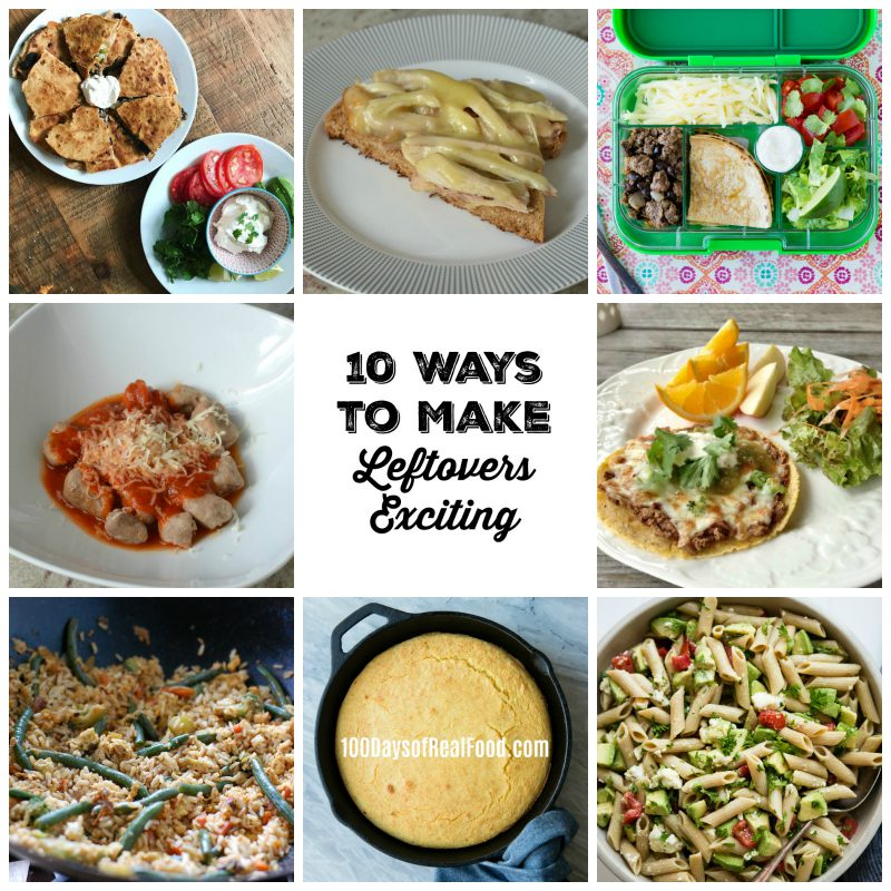 10 ideas for leftovers