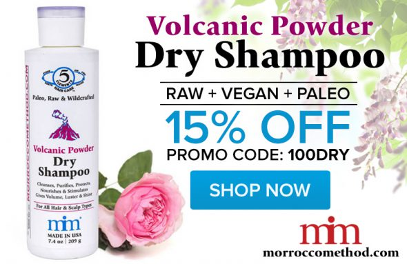Volcanic Powder Dry Shampoo with coupon
